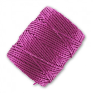 Filo C-Lon Tex 400 Bead Cord mm. 0,90 Light Magenta x m. 35