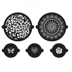 Stencil floreali da stampare e ritagliare finest - Stencil cucina da stampare ...