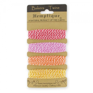 Assortimento Bakers Twine 1 mm Candy Lane 4 x 9,1m