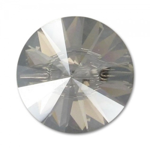 Bottone Swarovski 3015 mm. 27 Crystal Satin