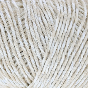 Lana Fashion Cotton Mouliné Glitz Dk Beige x 50g