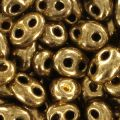 Twin beads mm. 2.5x5 Gold Bronze x20g