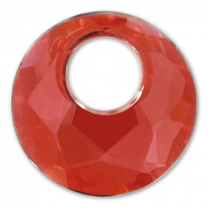 Pendente Victory Swarovski 6041 mm. 38 Crystal Red Magma x1
