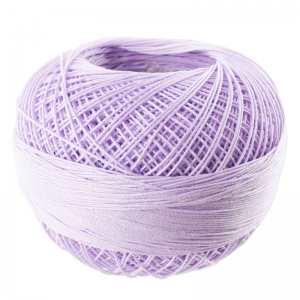 Filo cotone Lizbeth taglia 40 Light Purple Iris n°646 x274m