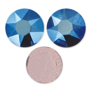 Strass Hotfix Swarovski mm. 4 Crystal Metallic Blue x36