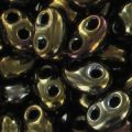 Twin beads mm. 2.5x5 Brown Iris x20g
