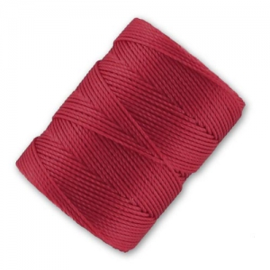 Filo C-Lon Beading Cord 0,50 mm Red Hot x m. 82