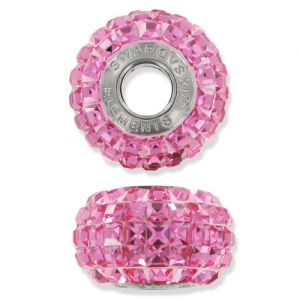 BeCharmed Pavé Swarovski 80201 mm. 15 Rose x1