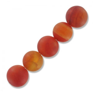 Fire Agate Cracked 10 mm x5