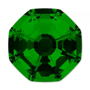 Cabochon Swarovski 4678 Solaris mm. 14 Dark Moss Green x1