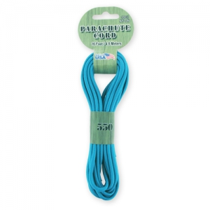Parachute Cord 550 Turquoise x4.8m