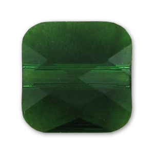 Mini Square Swarovski 5053 mm. 8 Dark Moss Green x1