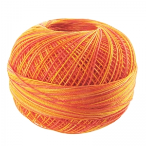 Filo cotone Lizbeth taglia 40 Orange Crush n°183 x274m