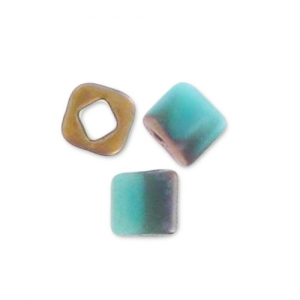 Cubi Toho 1.5 mm TC-01-  Y857F - Hybrid Frosted Turquoise Apollo x10g
