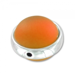 Perlina Luna Soft 14 mm Orange x1