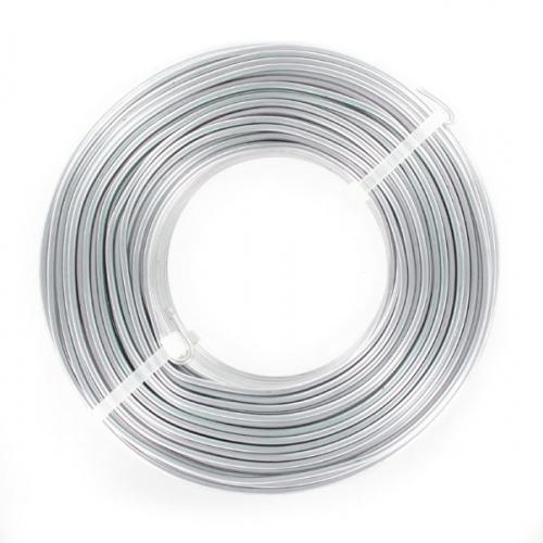 filo di alluminio mm 2 argentato x m 60 tonde mm 2