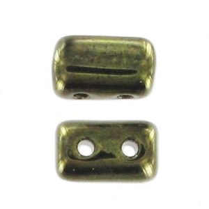 Rulla 3x5 mm Jet Green Luster x10g