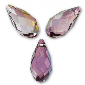 Goccia Swarovski 6010 mm. 13x6.5 Crystal Lilac Shadow x1
