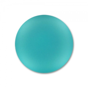 Cabochon Luna Soft 24 mm Blue Zircon x1