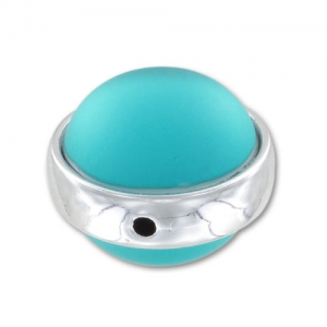Perlina Luna Soft 14 mm Blue Zircon x1