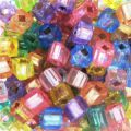 Squares 3.4 mm Jelly Candy Mix x25 gr