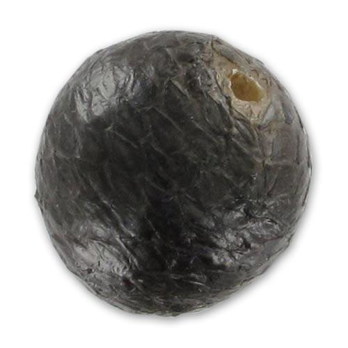 Perla tonda pelle di serpente mm 15 nero x1 perles co for Serpente nero italiano