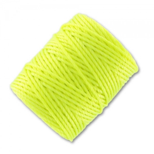 Filo C-Lon Tex 400 Bead Cord mm. 0,90 Neon Yellow x m. 35