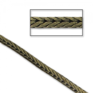 Catena serpentina mm. 3 bronzo x50cm