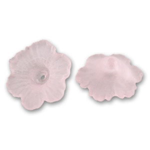 Fiori mm.  4x11 Very Light Rose Frosted x10