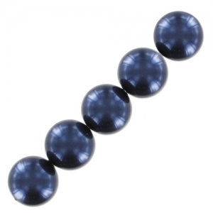Perline Swarovski 5810 mm. 4 Night Blue Pearl x20