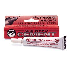 Colla forte con applicatore di precisione G-S HYPO Cement ml.9