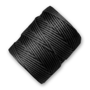 Filo C-Lon Tex 400 Bead Cord mm. 0,90 Black x m. 35
