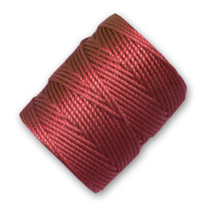 Filo C-Lon Tex 400 Bead Cord mm. 0,90 Red x m. 35