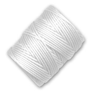 Filo C-Lon Tex 400 Bead Cord mm. 0,90 White x m. 35