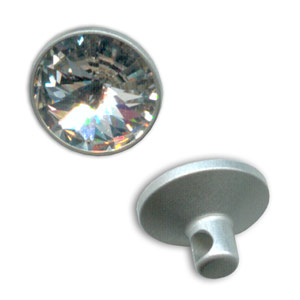 Bottone Swarovski 1810 mm. 9 Crystal