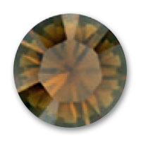 Cabochon Swarovski 1028 mm. 3 Crystal Bronze Shade x20