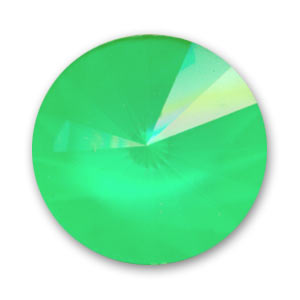 Cabochon Swarovski 1122 Rivoli mm. 18 Crystal Ultra Lime