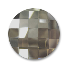 Cabochon Swarovski 2035 tondo mm. 30 Black Diamond