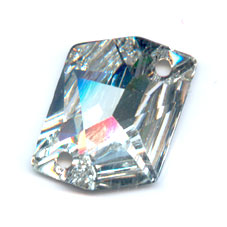Cabochon 3265 forato Cosmic mm. 20x16 Crystal