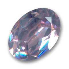Cabochon Swarovski 4120 ovale mm. 18x13 Light Amethyst