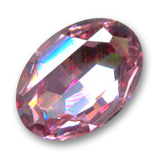 Cabochon Swarovski 4127 ovale mm. 30x22 Light Rose