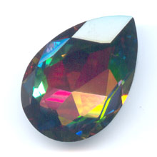 Cabochon Swarovski 4327 pera mm. 30x20 Crystal Vitrail Medium