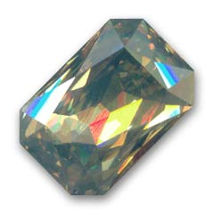 Cabochon Swarovski 4627 mm. 27x18,5 Crystal Golden Shadow