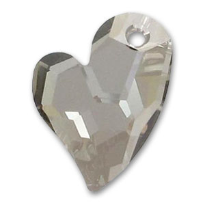Cuore Swarovski Devoted 2 U 6261 mm. 17 Crystal Satin x1