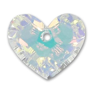 Cuore Swarovski Truly in Love 6264 mm. 18 Crystal AB x1