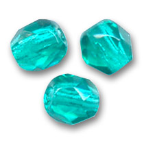 Sfaccettate mm. 6 Blue Zircon  x25