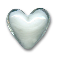 Cuori interno bianco mm 18 crystal x4 perles co for Interno x4