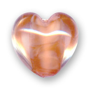 Cuore mm. 18x18 Peach