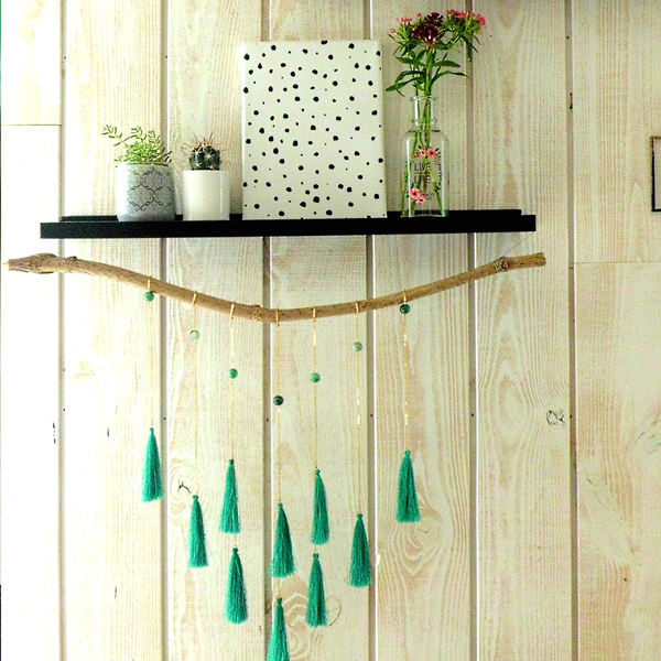 Bohemian Wall decoration with tassel