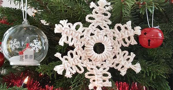 Stella Di Natale Con Perline.Stella Di Natale Macrame Fai Da Te Perles Co
